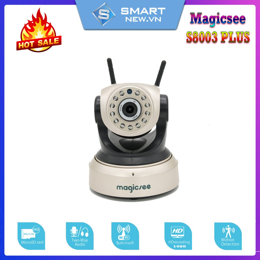 Camera giám sát Magicsee S8003 Plus Full HD1080 7